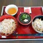 えい坊館(祝麺膳冷やしうどん)