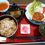 えい坊館(若鳥のハンバーグ定食)
