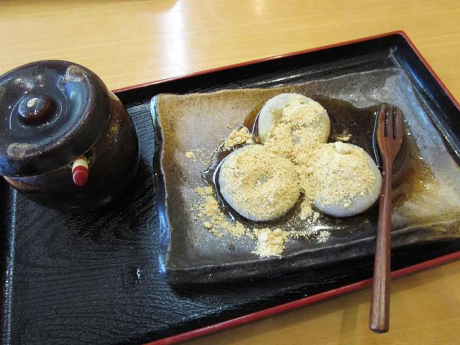 一乗谷(そば団子)
